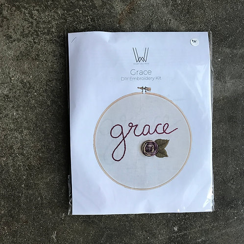 Grace Embroidery Kit
