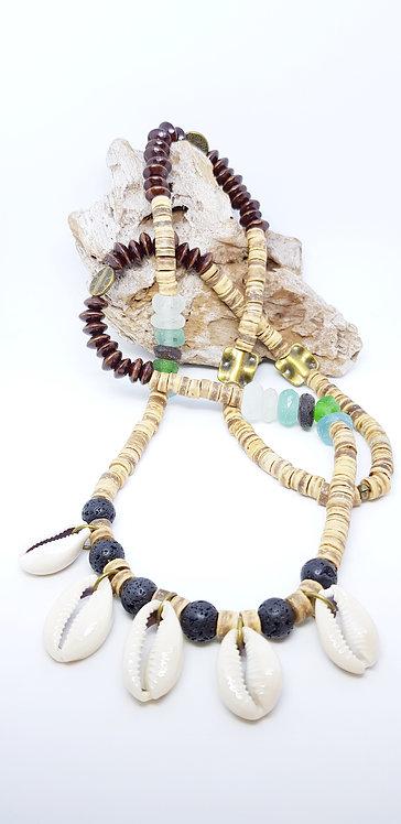 Beach meets boho necklace