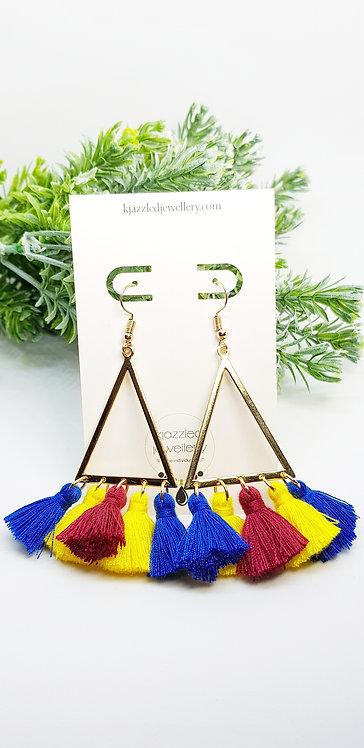 Brisbane Lions earrings
