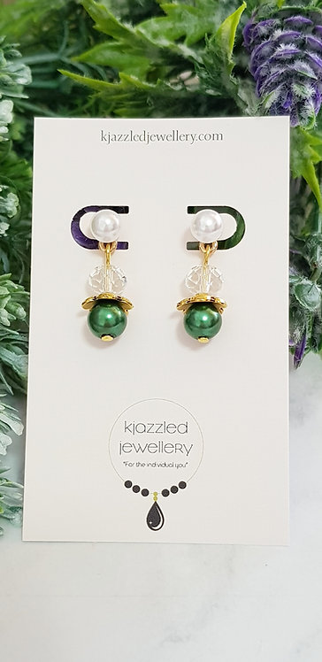 Lunar earrings