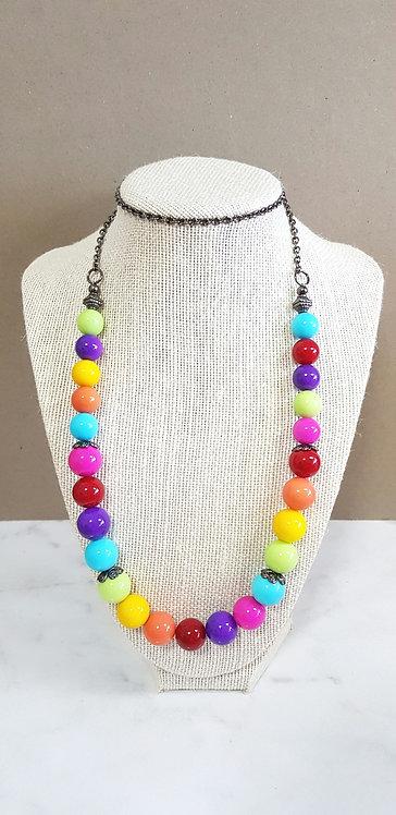 Bubblegum necklace (long)