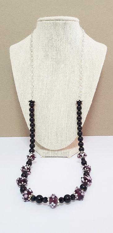 Lampwork necklace