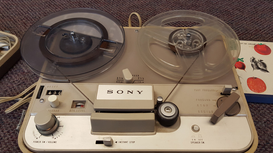 Reel to Reel Tape Player Repair