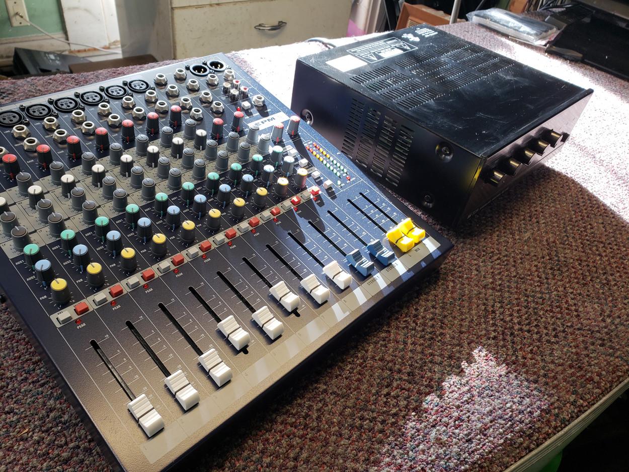 Public Address Mixer Repair