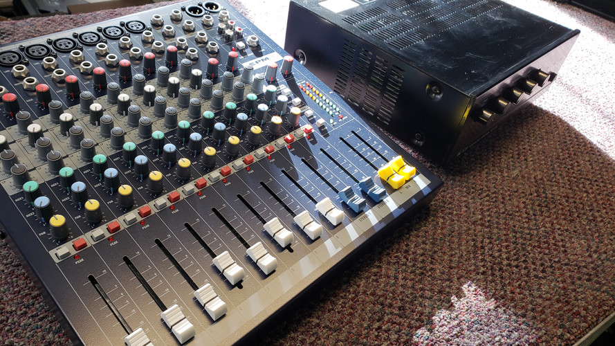 Public Address Mixer Repair