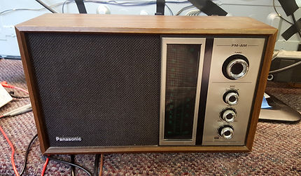 Vintage Panasonic AM/FM Radio