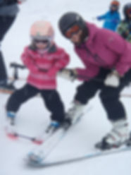 ski with your chldren