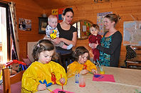 Chalet with Childcare