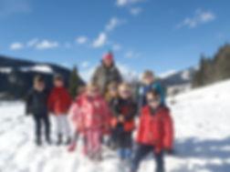 ski holiday for children