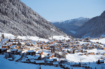 Best for skiing chatel