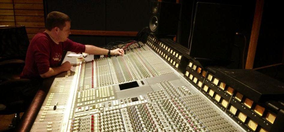 Mixing on the SSL Console at Bardo Studios