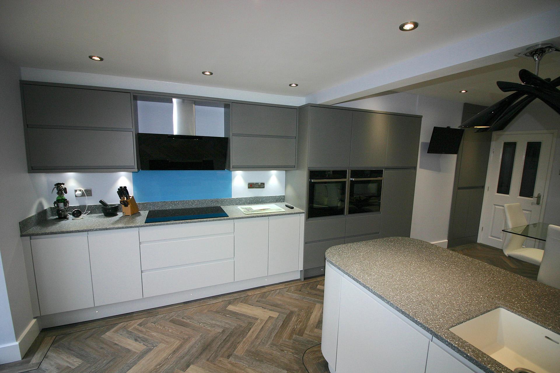 Matt Painted Kitchen