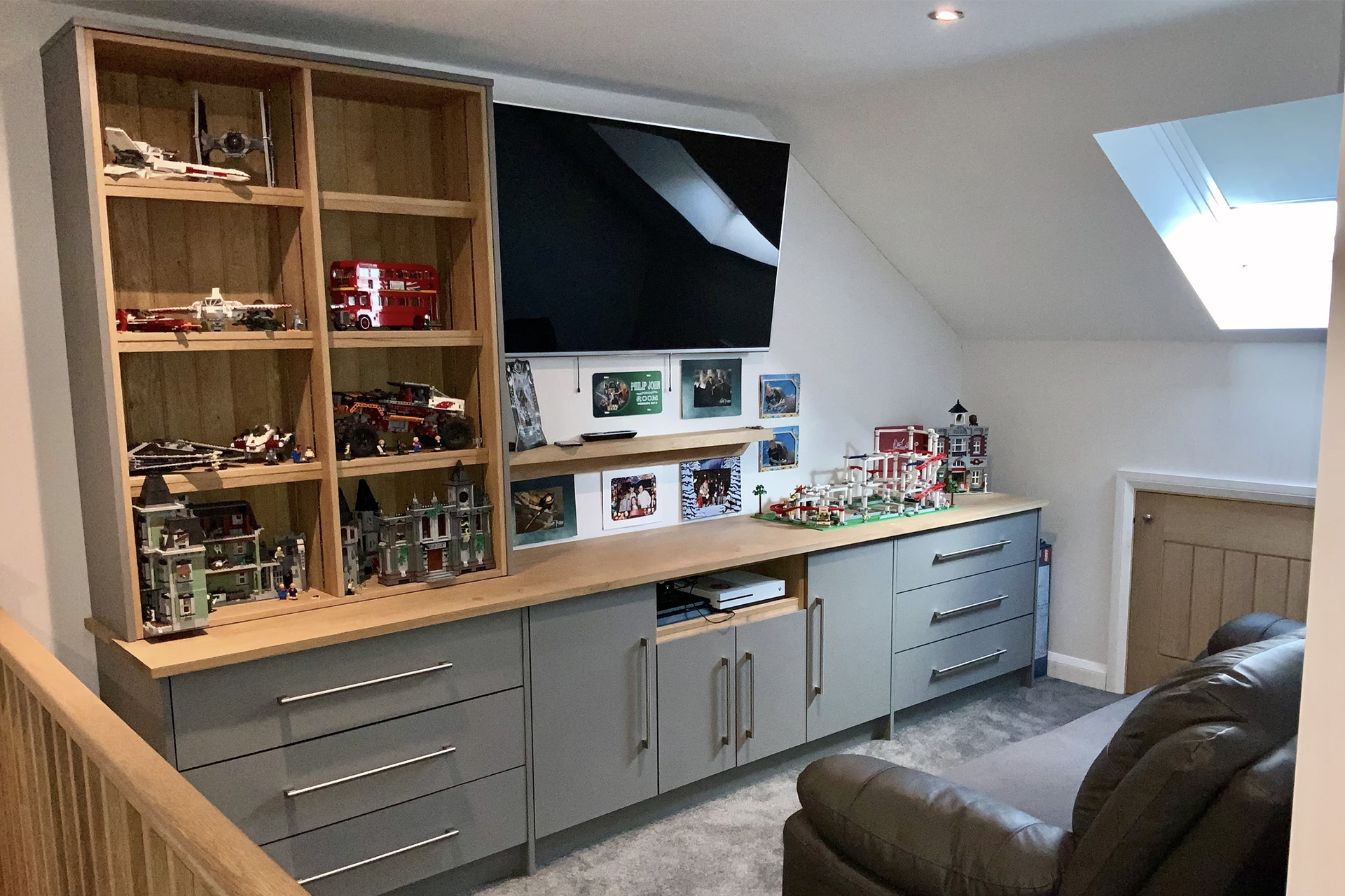 Loft Fitted Bedroom Games room