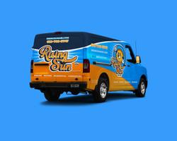 Rising Sun Air Work Van Rear