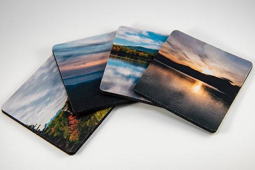 Coasters with Neoprene Back