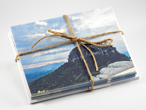 10 Blank Western North Carolina landscape note cards