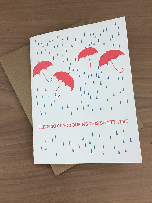 rainy days - set of 6