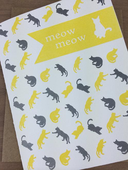 meow meow - set of 6