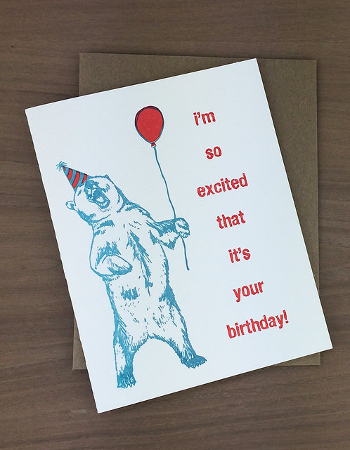 bearthday - set of 6