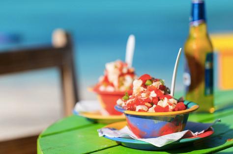 Delicious Bahamian food
