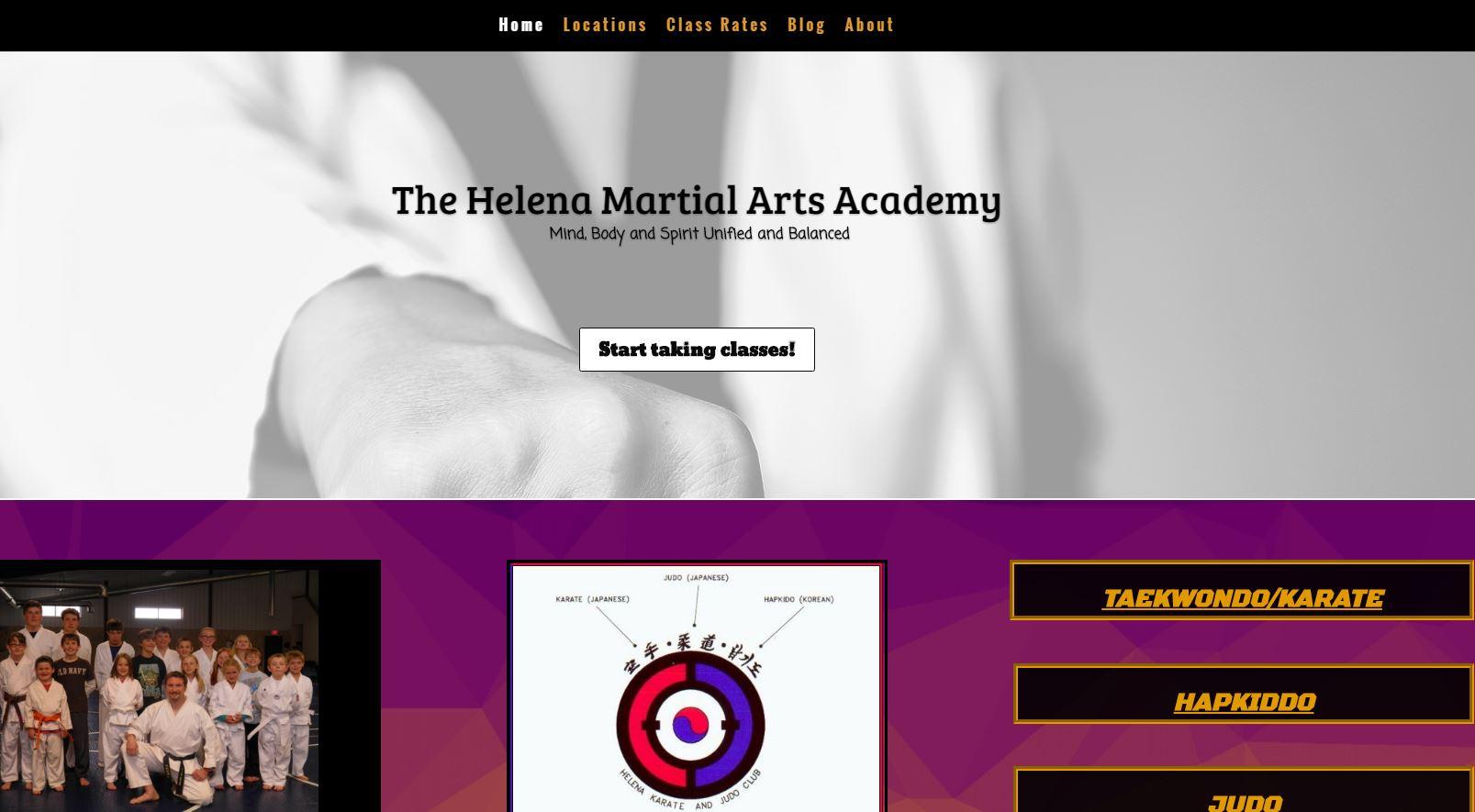 Helena Martial Arts Capture