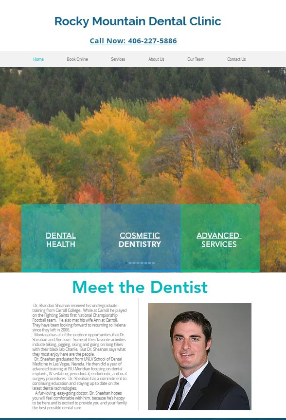 Rocky Mountain Dentist capture