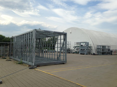 Modular Structural Steel Cage