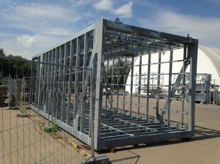 Modular Structural Steel Cages