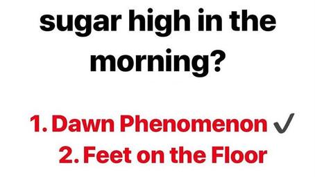 Dawn Phenomenon | High Blood Sugar In The Morning