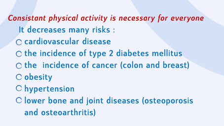 DIABETES AWARENESS MONTH - THE IMPORTANCE OF PHYSICAL ACTIVITY