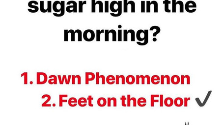 Feet On The Floor | High Blood Sugar In The Morning