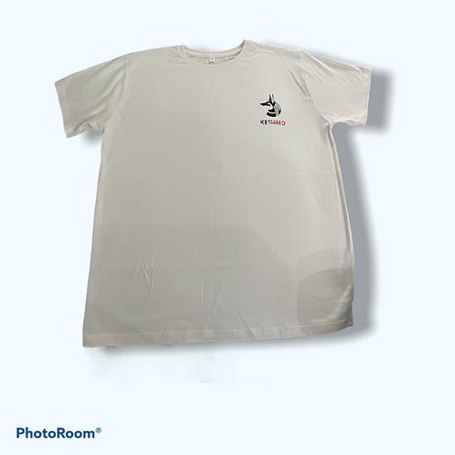 Keshred Short Sleeve T-Shirt - White