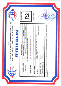 R2 LICENCE OF AUTHORIZATION
