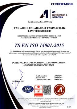TS EN ISO 14001:2015