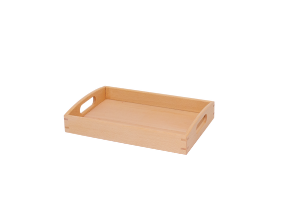 Beech Wood Tray with Handles