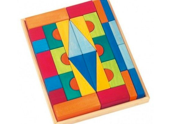 Colourful Block Set (36 pcs)