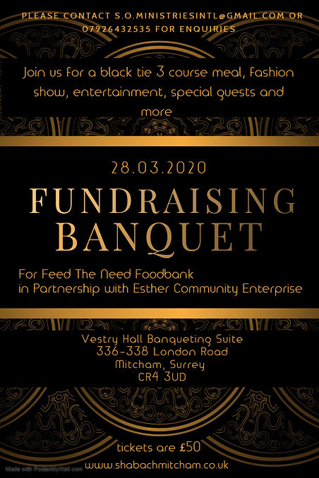 FUNDRAISING BANQUET - Made with PosterMy