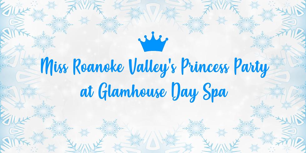 Princess Party at Glamhouse Day Spa