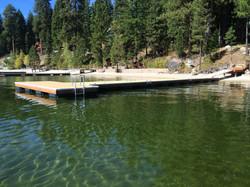 Removable dock system