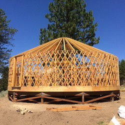 Structure of Yurt