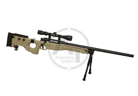 AW .338 Sniper Rifle Set Upgraded Well