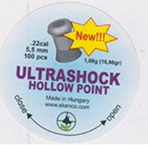 ULTASHOCK HOLLOW POINT cal. 5.5