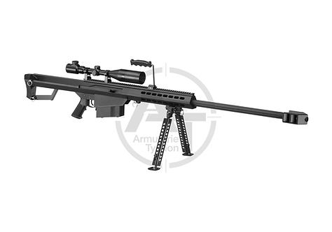 Barrett M82A1 Bolt Action Sniper Rifle Set Snow Wolf