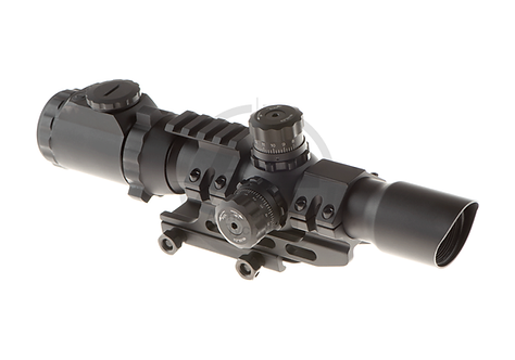Assault Optic 1-4x28 Mil Dot (Trinity Force)