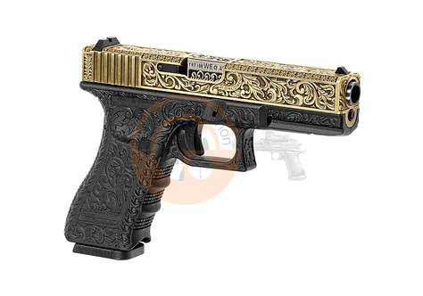 WE17 Etched Bronze Metal Version GBB