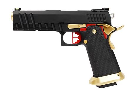 HX2002 FULL BLACK & GOLD
