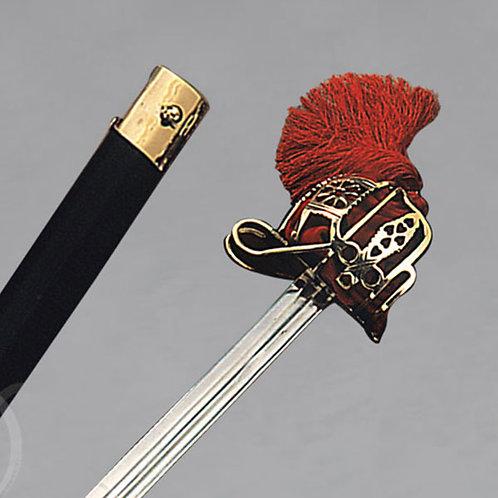 SCOTTISH SWORD W/BRASS BASKET