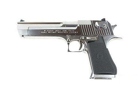 Réplique GBB Desert Eagle .50AE Hard Kick gaz chrome 0,8J