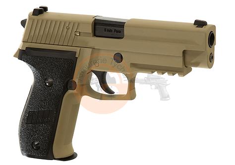 P226 Mk25 Navy Seals Full Metal Desert GBB