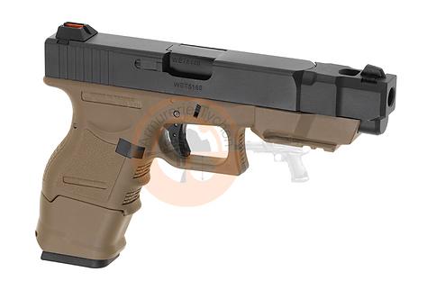 WE33 Advanced Desert Metal Version GBB